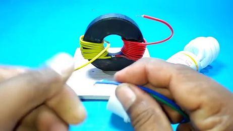 一块磁铁也能发电,你能相信?磁能真能产生电能