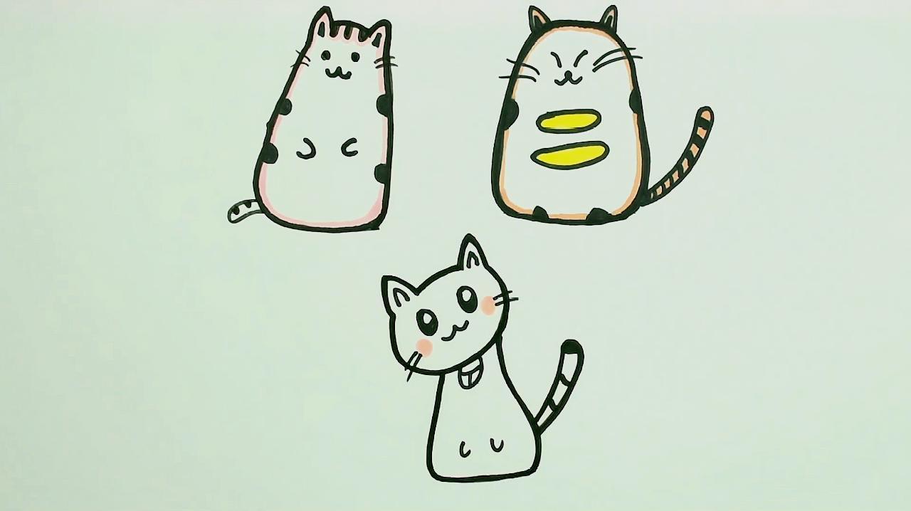 猫的简玩具生动有趣可爱好玩一起来看笔画多动症玩什么看吧图片