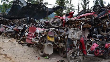 废旧摩托车身上这个东西,不要随便卖掉,网友:后悔现在才知道!