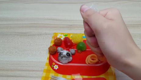 日本食玩之日式熊猫便当食玩,孩子既能吃又能玩何乐不为