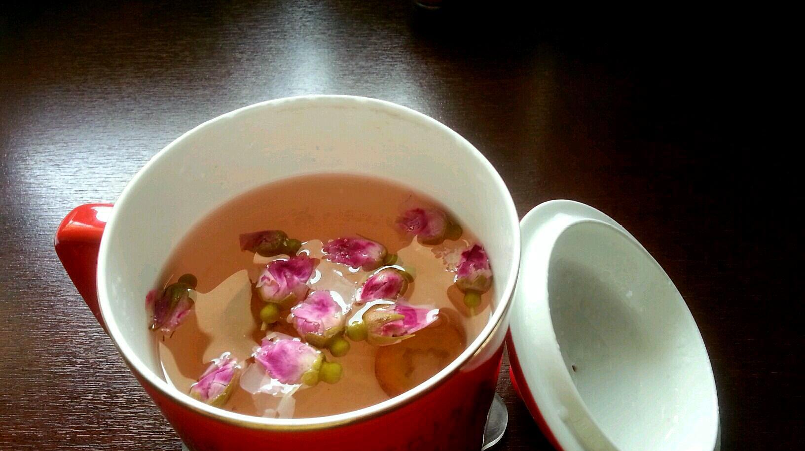 教你正确泡玫瑰花茶的方法,学会了真是方便,好喝!
