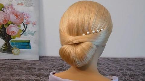 2019年夏季最流行的一款发型,唤起你的少女心,清新甜美