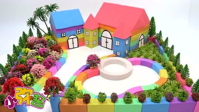 春天来了 一起手工建造一座鲜花盛开的小庭院吧 玩具故事