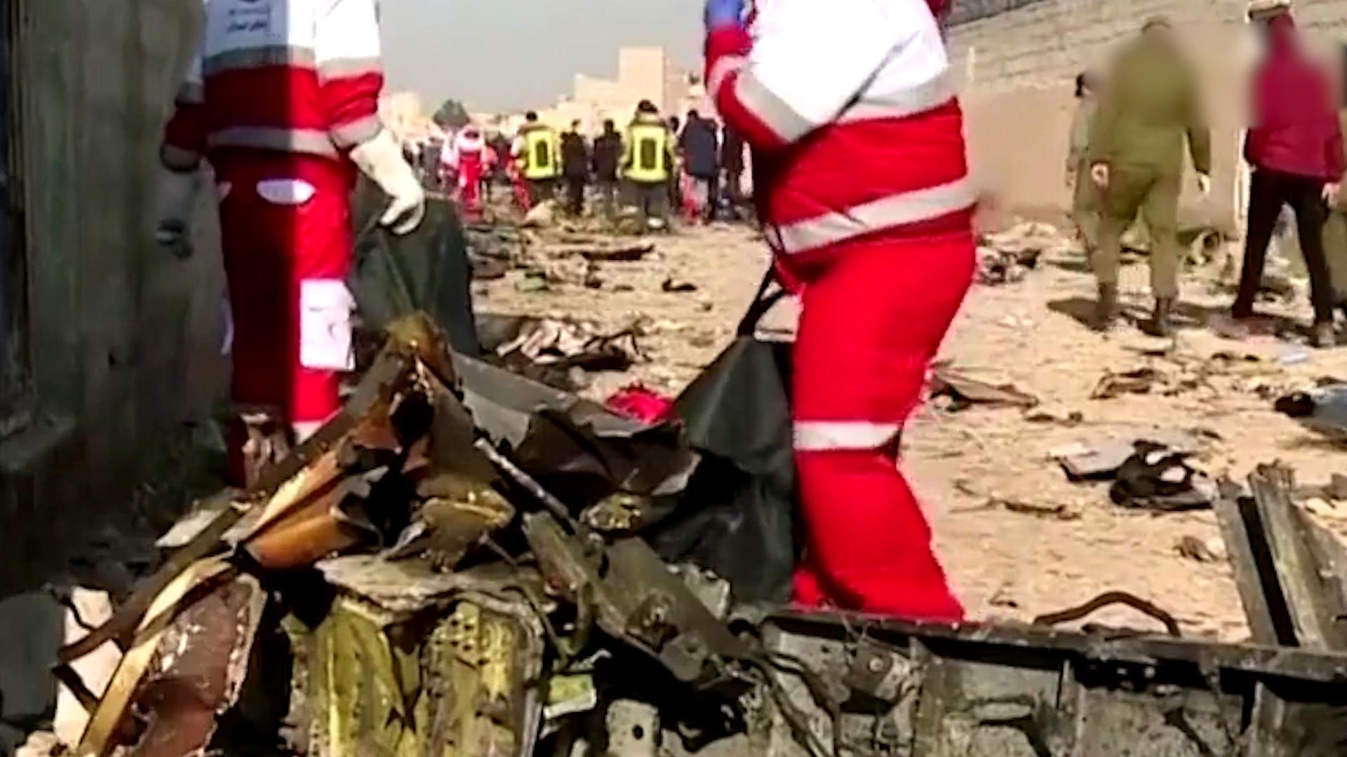 乌克兰客机坠机事件 逮捕多名嫌疑罪犯