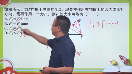 高中物理必修一精讲课第三章第4节课后练习第12题
