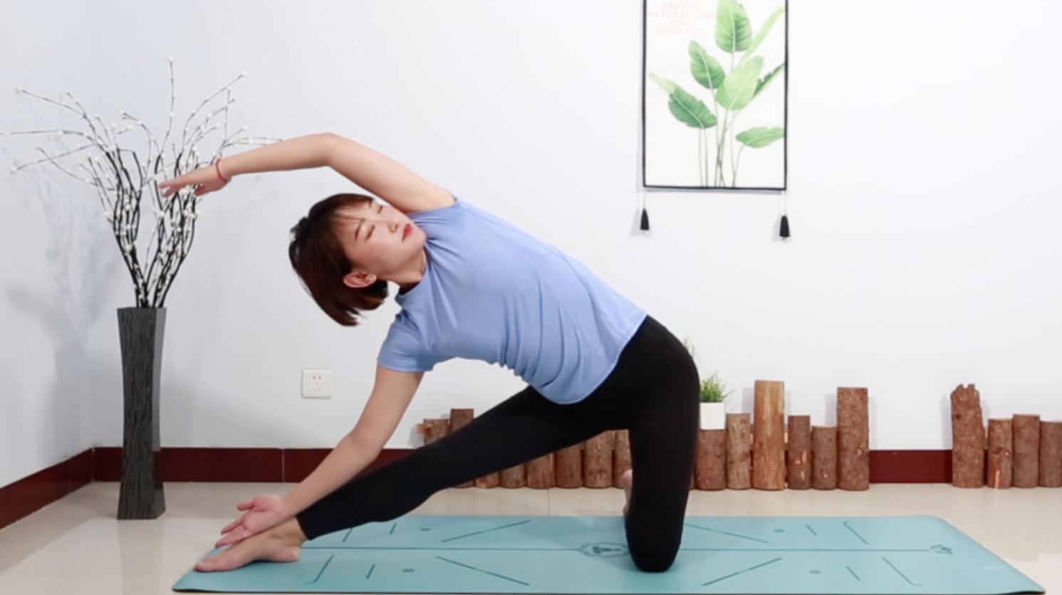 女性瑜伽:1个动作,促进骨盆区域血液循环,缓解痛经