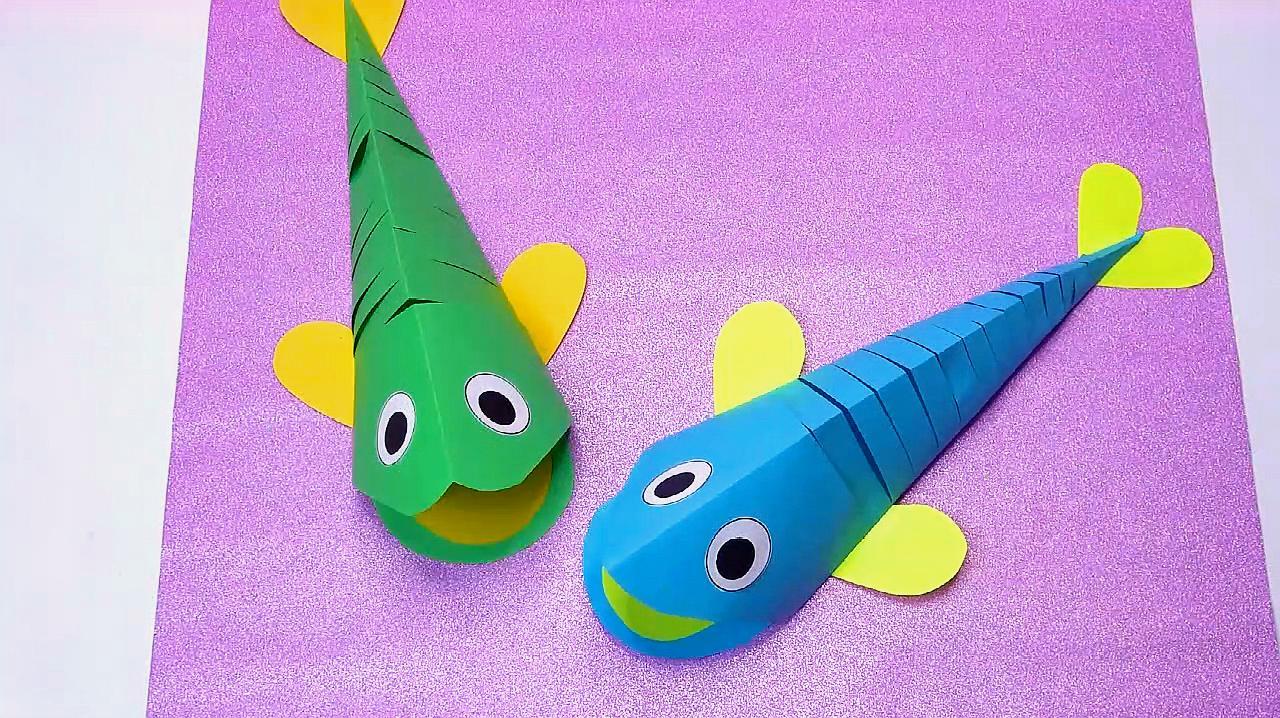 简单又漂亮立体小鱼的折法 服务升级打开原网页 5手工小鱼的制作教学