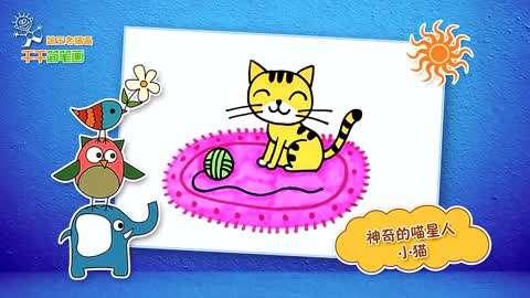 动物简笔画画出一个动物世界!