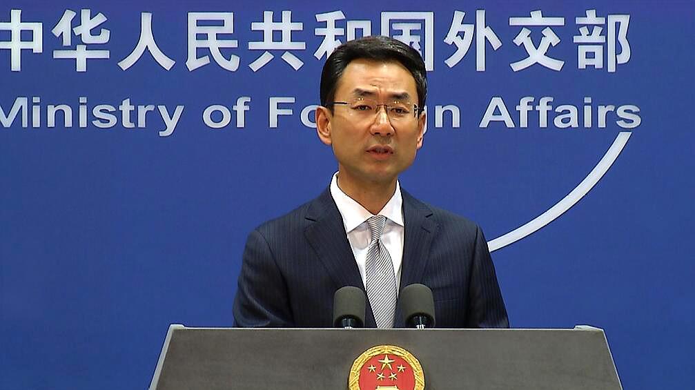 """苹果上架APP为香港暴徒""""护航"""",中国将采取何措施?耿爽回应"""