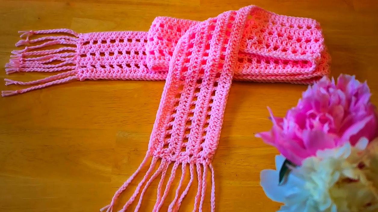 幼儿手工围巾制作