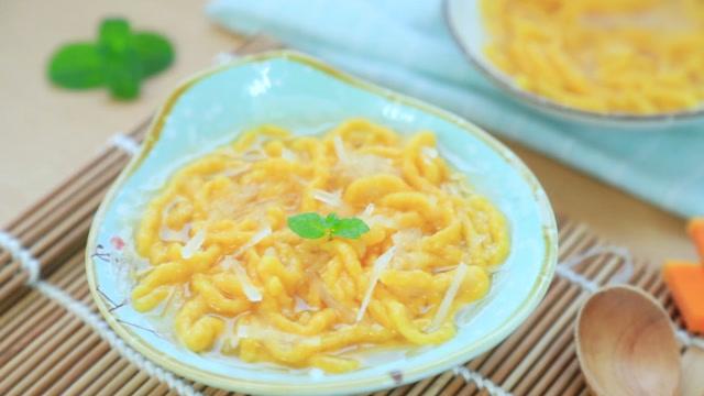 1岁宝宝辅食:营养美味的南瓜羊肉面线,最适合给宝宝吃的冬季辅食