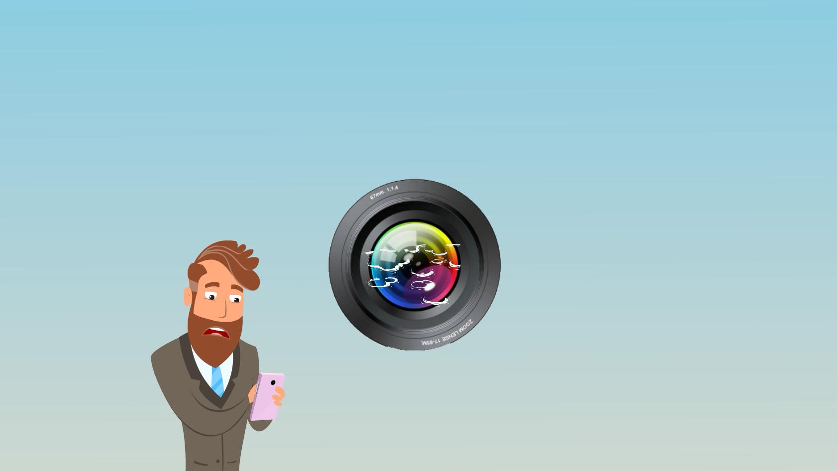 手机摄像头有水雾怎么办