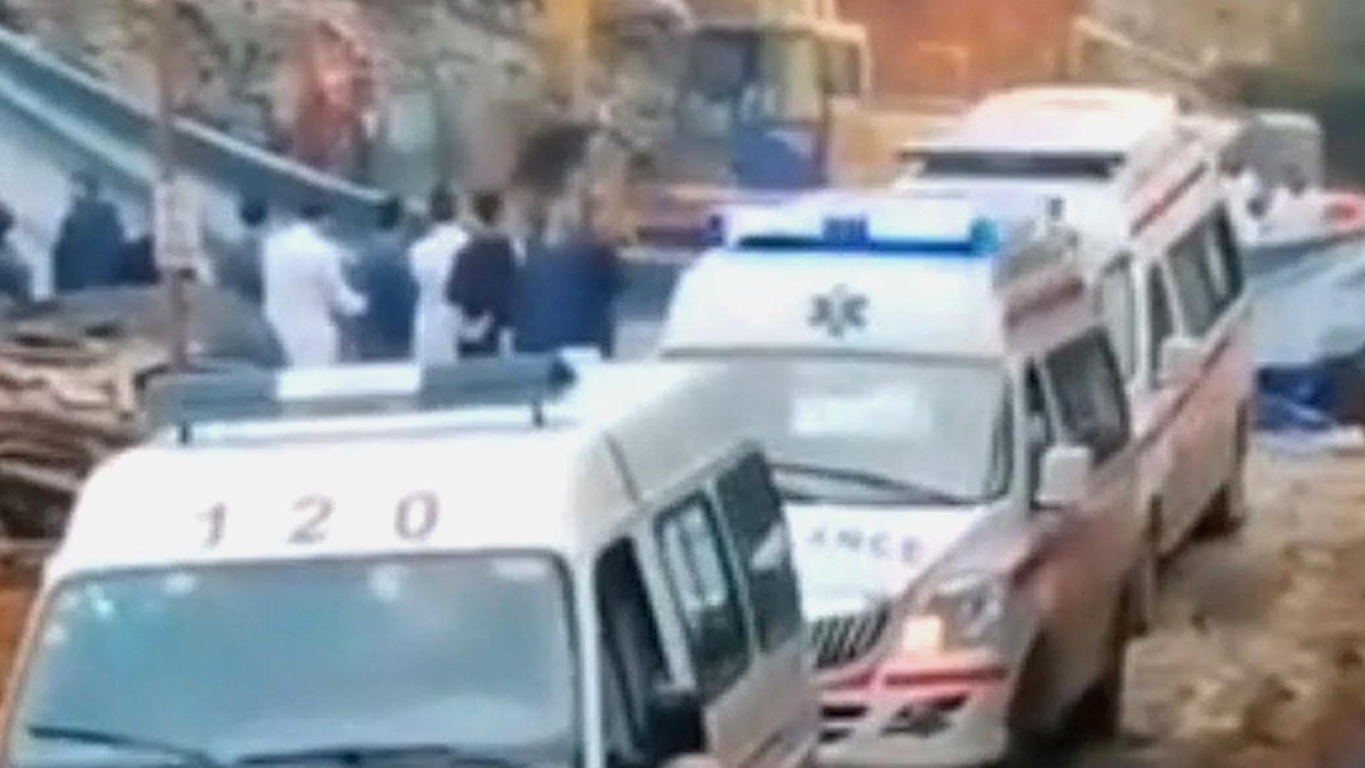 贵州一在建农贸市场发生垮塌事故 5名施工人员死亡