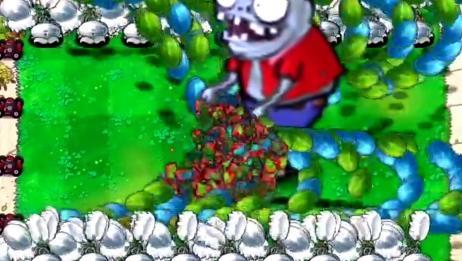 植物大战僵尸:巨人僵尸皮太厚了,满屏的土豆地雷都炸不死!