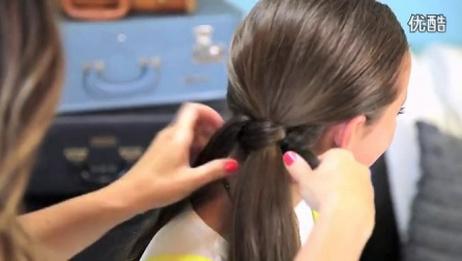 中国结式马尾扎发