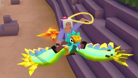 疯狂动物园:我抓到一只龙鹰,还有一只凤凰宝宝!