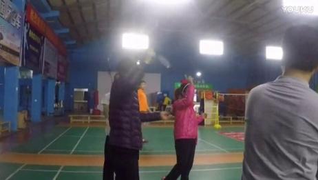 嘉友时间:嘉友3v3羽毛球挑战赛,怎么嗨怎么打