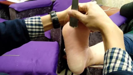 小铭教你做足疗:修脚篇