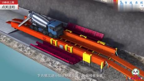 3D动画演示钻爆法隧道全工序机械化施工过程,难怪祖国基建这么强