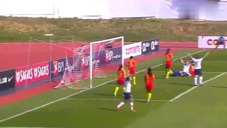 阿尔加夫杯:中国女足1比3挪威?王霜替补造险王珊珊终场前破门