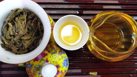 试喝2003年易武春尖,体验易武茶的香甜滑柔顺第一泡开汤