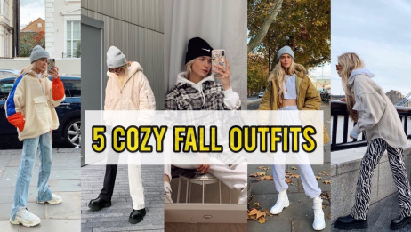 【Olivia Frost】秋冬日常穿搭记录|5 Cozy Fall Outfits