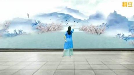 云裳广场舞 你像三月桃花开 背面