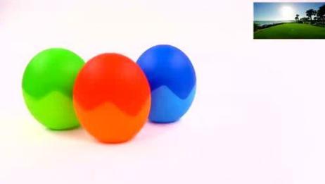 认识颜色学习数字15视频教程送给你神奇的恐龙蛋变身奇趣惊喜蛋?
