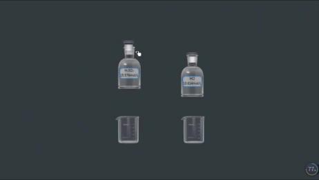 初三化学浓硫酸和浓盐酸的物理性质实验视频