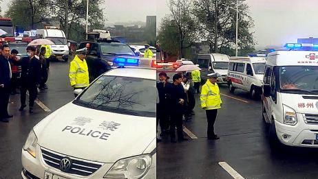 实拍:湖南郴州火车事故现场 多部门大批应急救援车辆火速抵达!