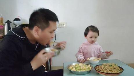 青瓜炒蛋简单做法,营养又美味,松哥炒一大盘,一家人吃过瘾……!