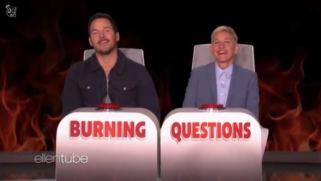 【帕帕】【自译】【中英双语】Chris Pratt Answers Ellen's 'Bu