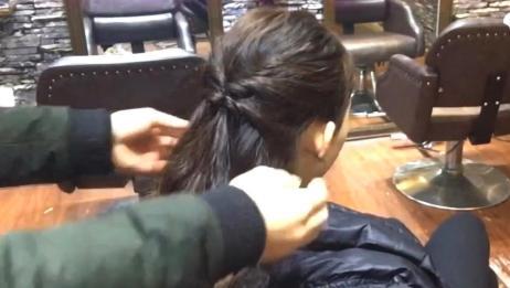 不懂扎头发的注意了,教你最简单的手法,气质马上就不一样