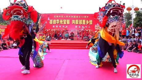 广东汕尾传统独角麒麟舞,真正的海丰地区民俗文化,值得一看
