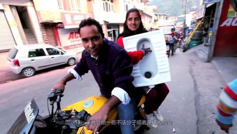 印度都是露天厕所,那女生该怎样上厕所呢?看完让人揪心