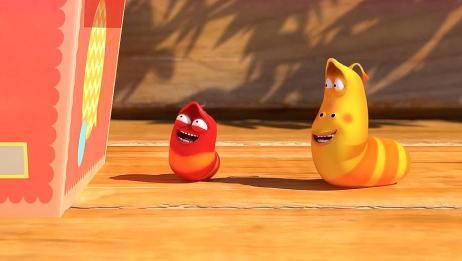 爆笑虫子:虫子也爱吃泡面?小红小黄为了吃泡面,使出十八般招式