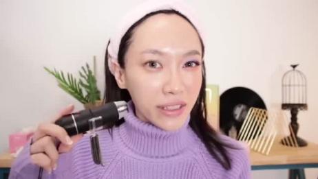 """美妆:扇子,油管ins上黑科技,卸妆和洁面能不能带走皮肤""""垃圾""""?"""