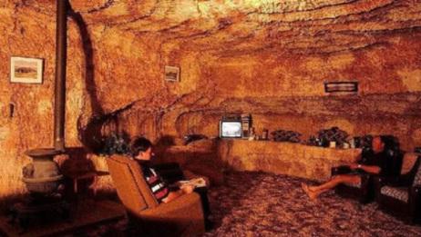 世界上唯一建在地下的小镇,当地人住在地底,随便挖个洞就是家!