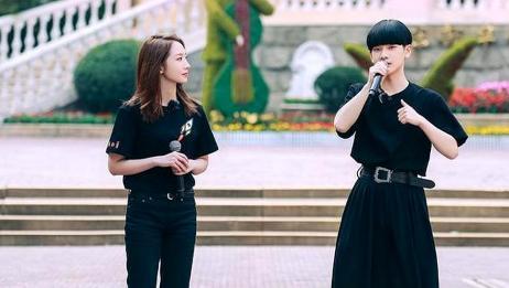 创造营2020放新预告,周震南孟美岐同穿黑色T恤,十分亮眼