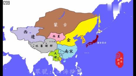 中华历史地图变迁