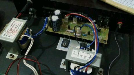 功放机不通电,需要更换新的变压器