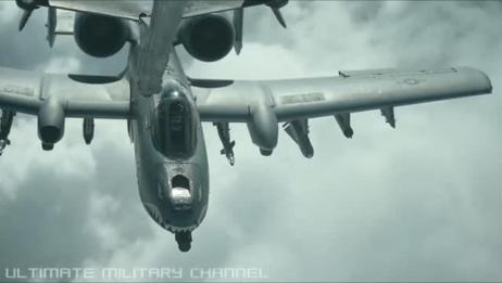从第一视角看美军攻击机空中加油过程
