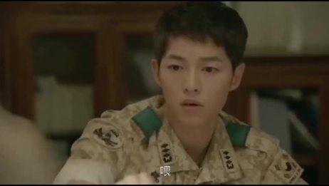 韩剧:《太阳的后裔》金智媛进门后的一番话,徐上士突然醋坛子打翻了!