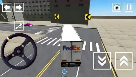 我是大卡车司机超长大货车闯关游戏精彩表演