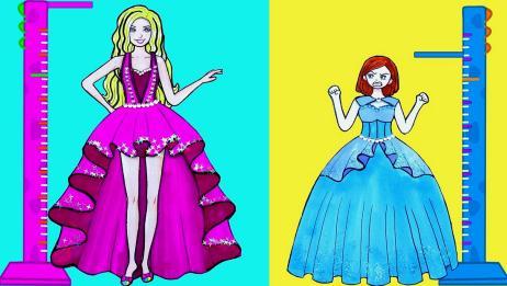 芭比姐妹参加校园舞会,姐姐性感妖艳,妹妹靓丽清纯,简直美翻了