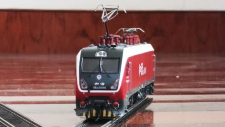 HXD1D电力机车 火车模型 模拟机车启机声