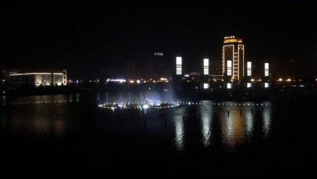 灵溪中心湖