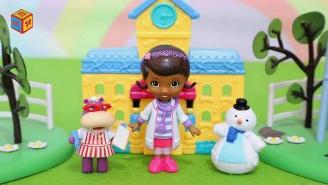 小医师大玩偶被染色的玩偶奇奇玩具故事