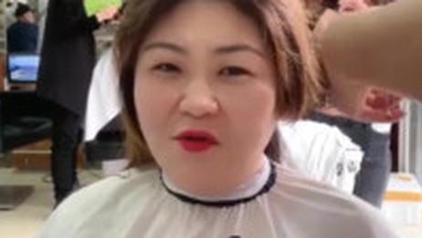 大脸女子这样剪发型,超级减龄显脸小