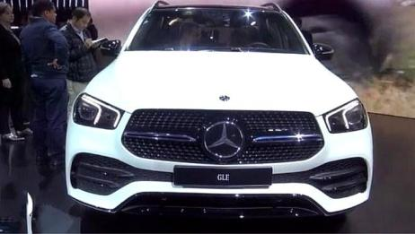 2020款全新奔驰GLE,闪亮登场,剑指全新宝马X5